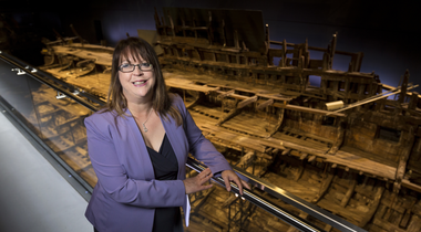 Five minutes with...Helen Bonser-Wilton, Chief Executive of the Mary Rose Trust