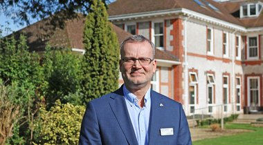 Transformational Leaders: Mark Hawkins, Chief Executive of Rowcroft Hospice